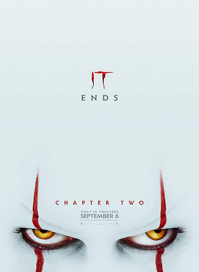 it chapter 2 poster - Cryptic Rock Presents: Top 10 Horror Movies of 2019