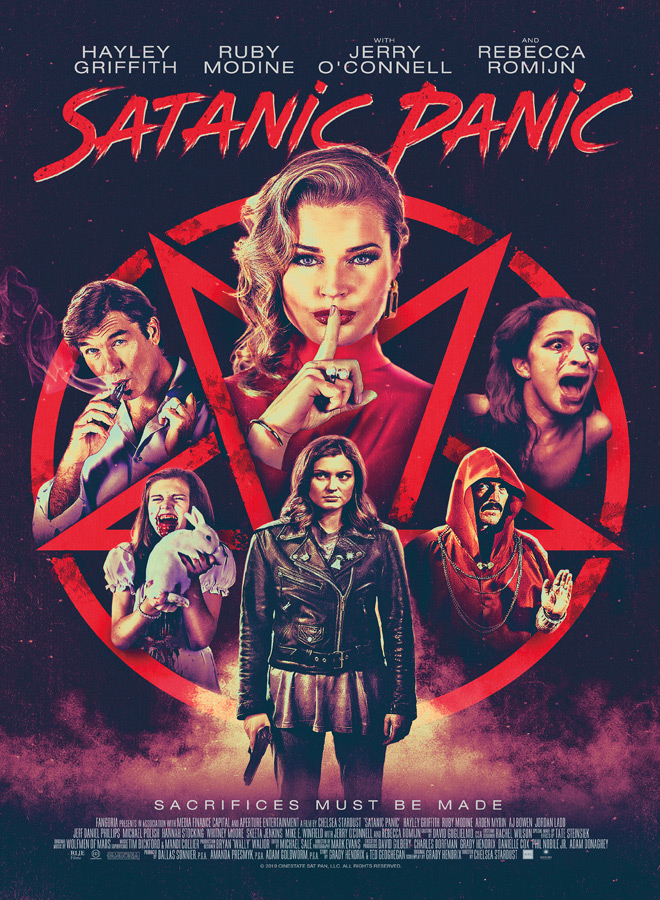 satantic panic poster 1 - Satanic Panic (Movie Review)