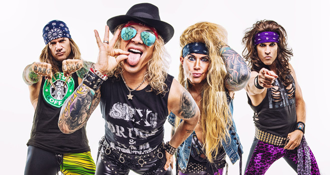 steel panther promo - Steel Panther - Heavy Metal Rules (Album Review)