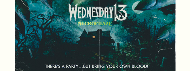 wednesday 13 slide - Wednesday 13 - Necrophaze (Album Review)