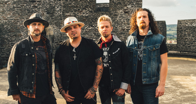 black stone cherry 2019 - Black Stone Cherry - Black To Blues, Vol. 2 (EP Review)
