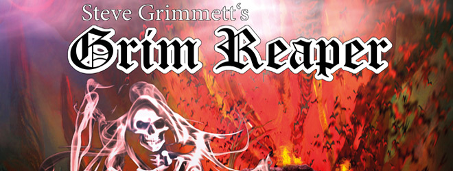 grim reaper at the gates slide - Steve Grimmett's Grim Reaper - At The Gates (Album Review)
