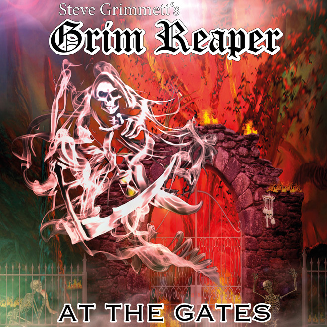 grim reaper at the gates - Steve Grimmett's Grim Reaper - At The Gates (Album Review)