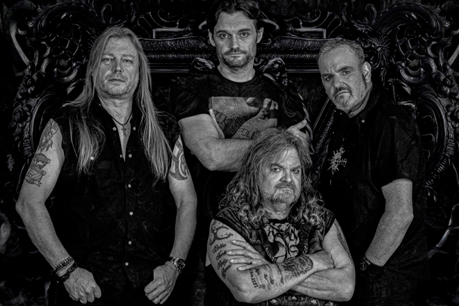 grim reaper promo - Steve Grimmett's Grim Reaper - At The Gates (Album Review)