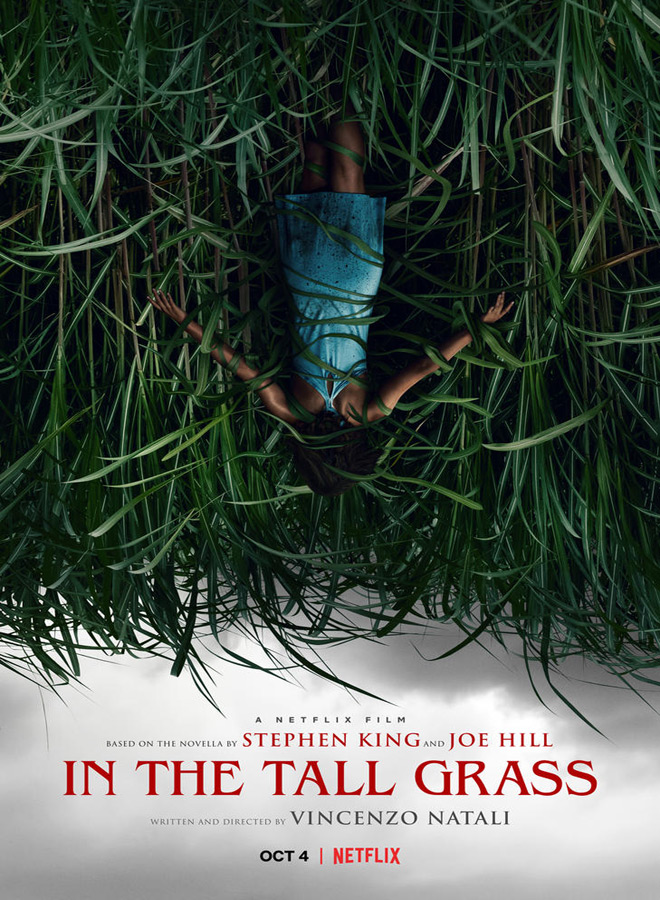in the tall grass poster - In the Tall Grass (Movie Review)