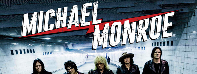 michael monroe slide - Michael Monroe - One Man Gang (Album Review)
