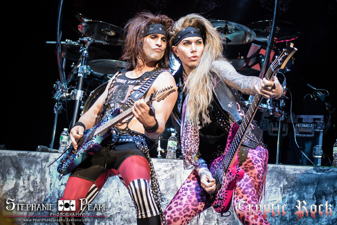 steel panther live 2 - Interview - Lexxi Foxx of Steel Panther