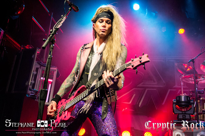 steel panther live - Interview - Lexxi Foxx of Steel Panther