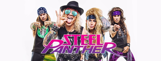 steel panther slide - Interview - Lexxi Foxx of Steel Panther