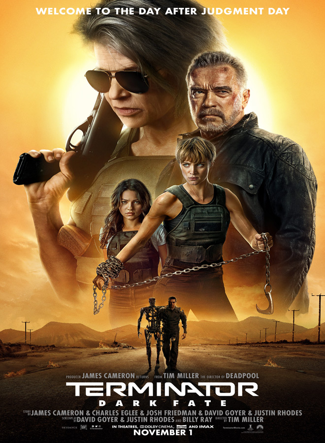 terminator dark fate poster - Terminator: Dark Fate (Movie Review)