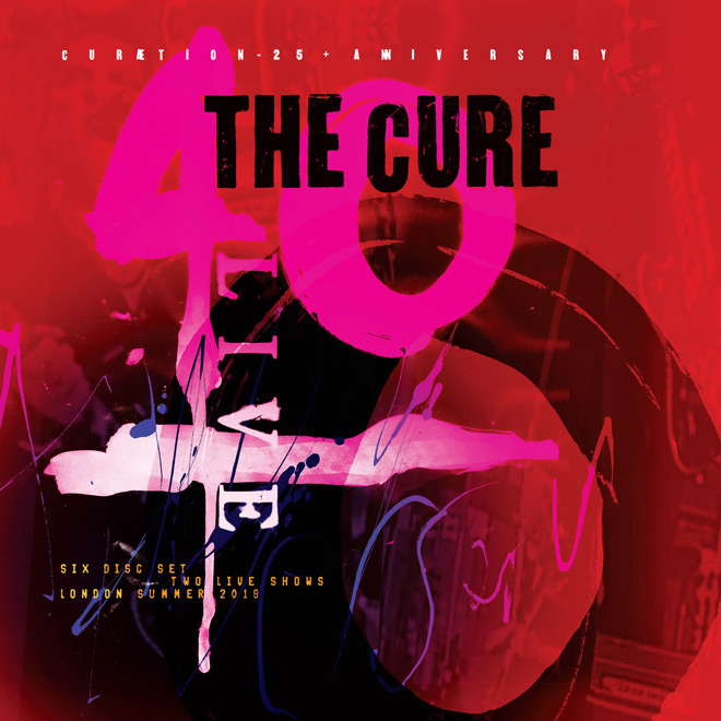 the cure live - The Cure - 40 LIVE - CURÆTION-25 + ANNIVERSARY (DVD Review)