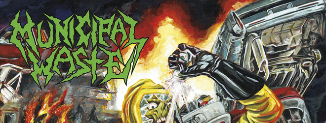 the last rager slide - Municipal Waste - The Last Rager (EP Review)