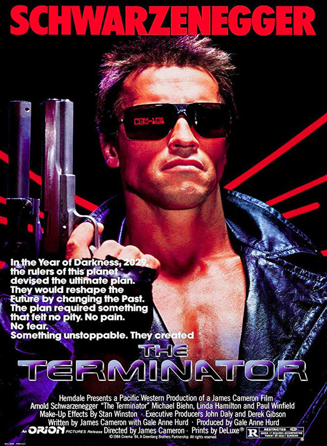 the terminator poster - The Terminator - Coming Back For More 35 Years Later