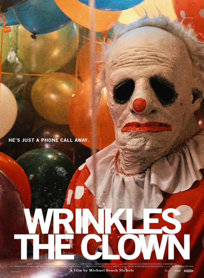 wrinkles poster - Wrinkles the Clown (Documentary Review)