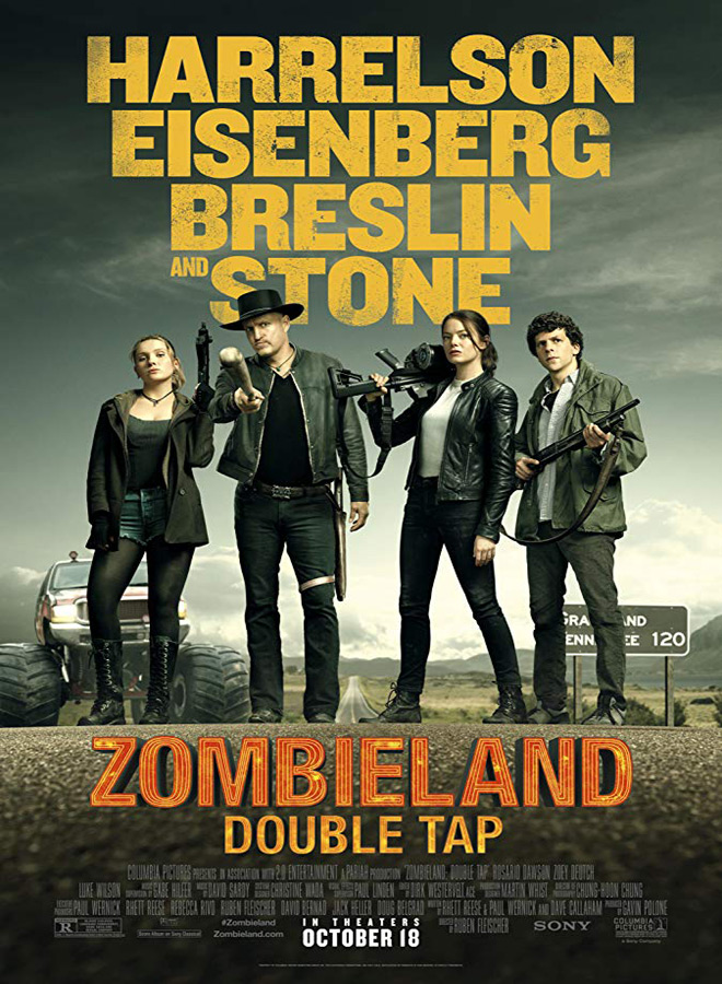 zombieland poster - Zombieland: Double Tap (Movie Review)
