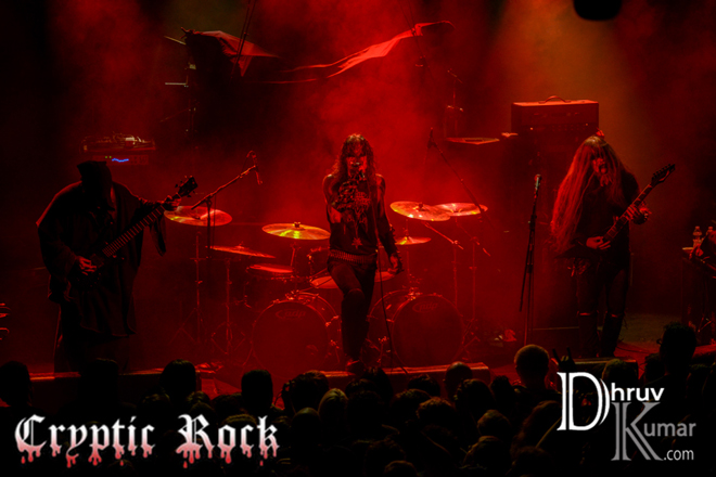 1349 live cryptic rock 2014 - Interview - Ravn & Archaon of 1349