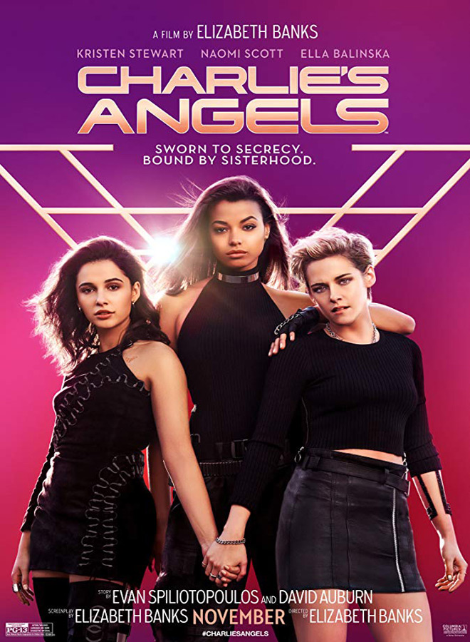 charles angels poster - Charlie's Angels (Movie Review)