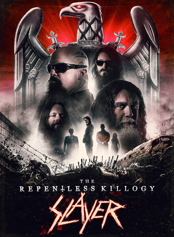 slayer poster - Slayer: The Repentless Killogy (Movie Review)