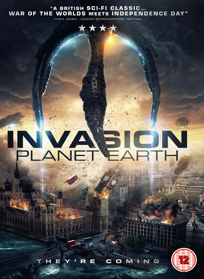 invasion planet earth poster - Invasion Planet Earth (Movie Review)