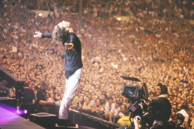 inxs live still - INXS: Live Baby Live at Wembley Stadium (Live Concert Movie Review)