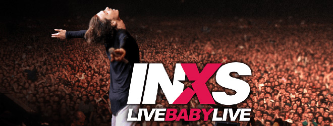 inxs slide - INXS: Live Baby Live at Wembley Stadium (Live Concert Movie Review)