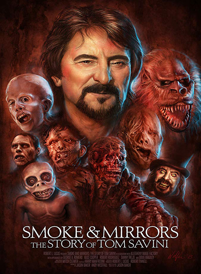 smoke and mirrors poster - Smoke and Mirrors: The Story of Tom Savini (Documentary Review)