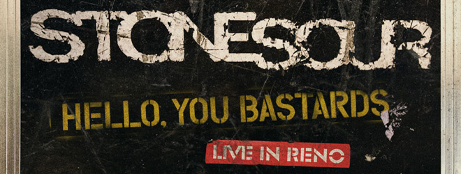 stone sour slide - Stone Sour - Hello, You Bastards: Live In Reno (Album Review)