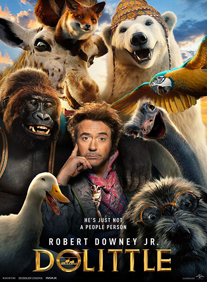 dolittle poster - Dolittle (Movie Review)