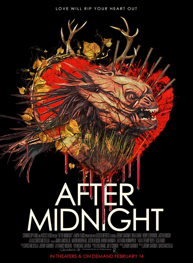 after midnight poster - After Midnight (Movie Review)