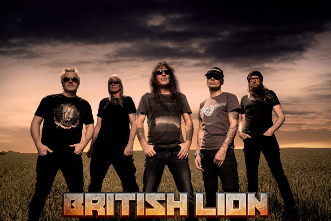 british lion promo band - Interview - Steve Harris of Iron Maiden & British Lion