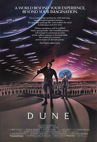 dune poster - Interview - John Dolmayan of System of a Down