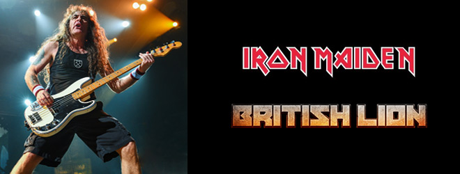 steve harris slide - Interview - Steve Harris of Iron Maiden & British Lion