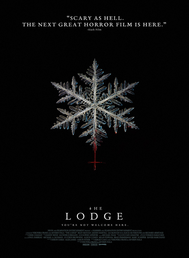 the lodge poster - The Lodge (Movie Review)