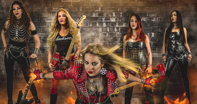 burning witches 2020 - Burning Witches - Dance with the Devil (Album Review)