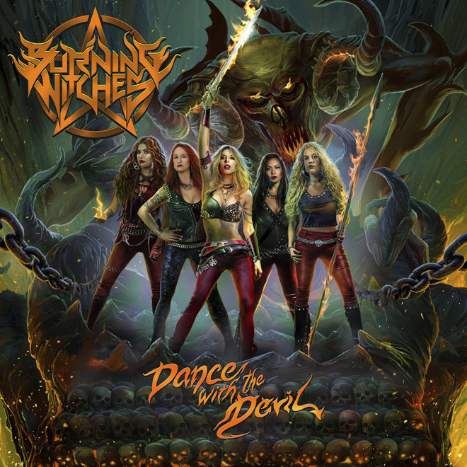 dance with the devil - Burning Witches - Dance with the Devil (Album Review)