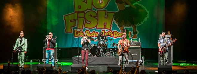 reel big fish slide - Reel Big Fish Bring Good Times To The Paramount Huntington, NY 3-6-20