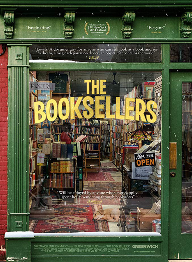 the bookseller poster - The Booksellers (Documentary Review)
