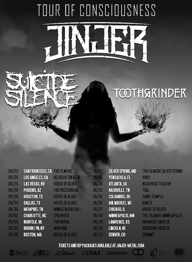 tour of consciousness poster - Interview - Justin Matthews of Toothgrinder