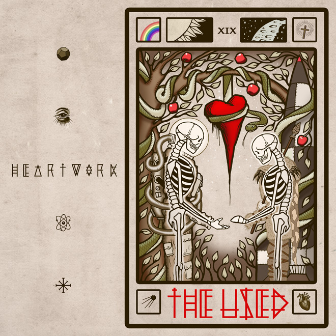the used heartwork - The Used - Heartwork (Album Review)