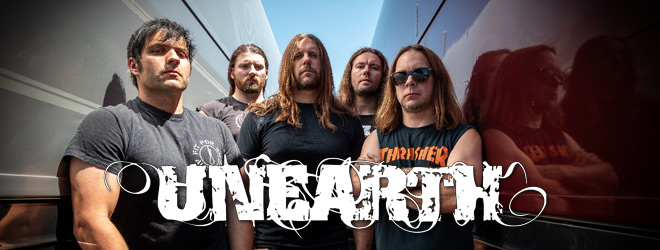 unearth interview slide - Interview - Trevor Phipps of Unearth