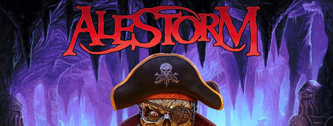 alestorm curse slide - Alestorm - Curse of the Crystal Coconut (Album Review)