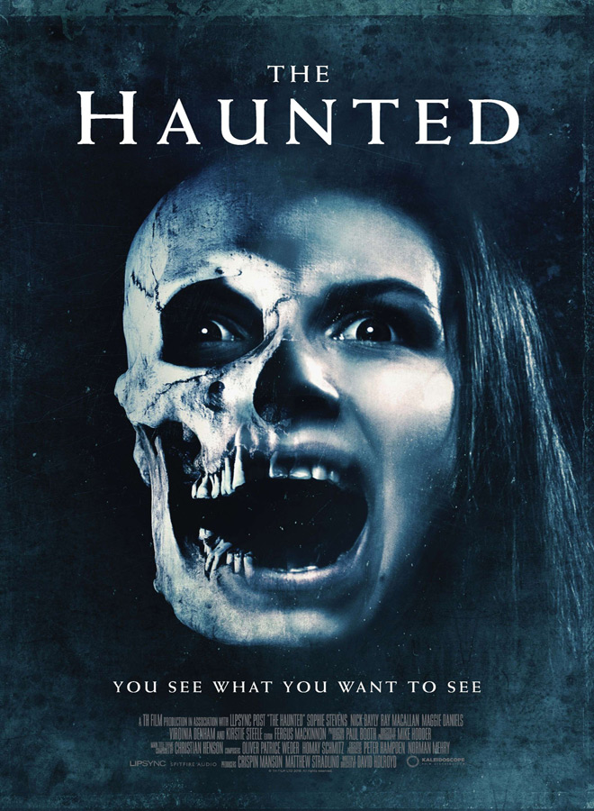 the haunted poster - The Haunted (Movie Review)