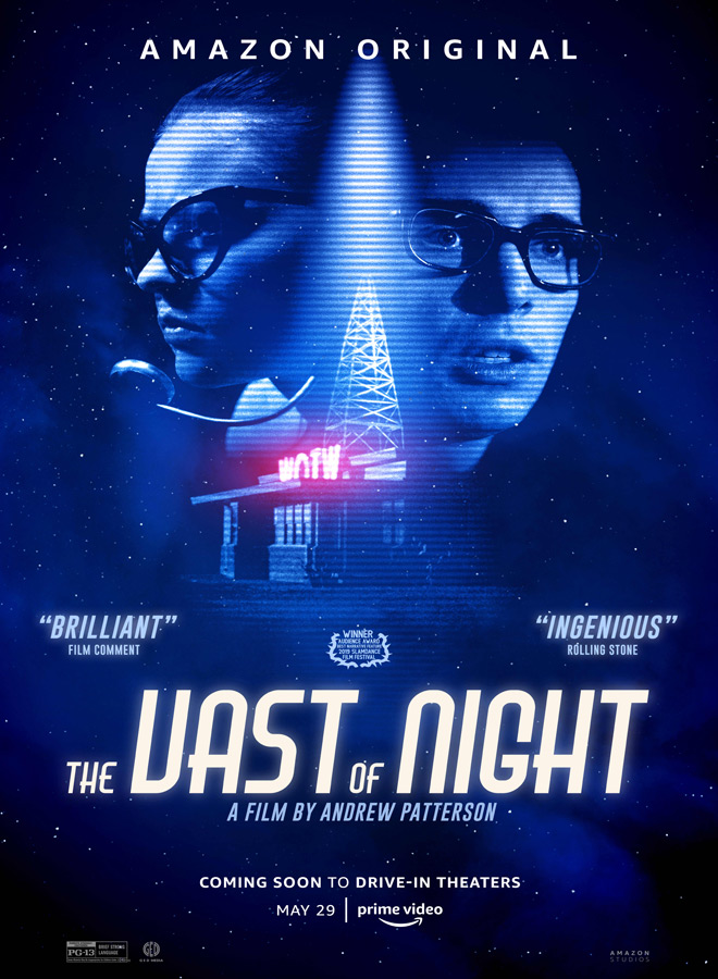 the vast of night poster - The Vast of Night (Movie Review)