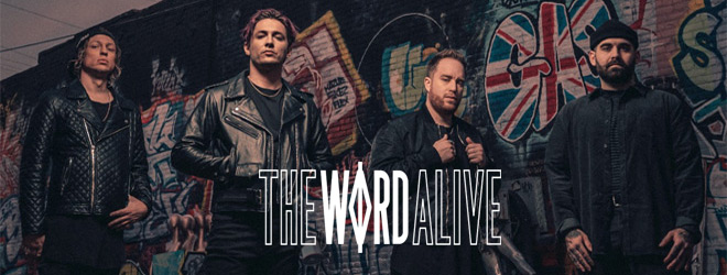 the word alive interview 2020 - Interview - Telle Smith of The Word Alive Talks MONOMANIA