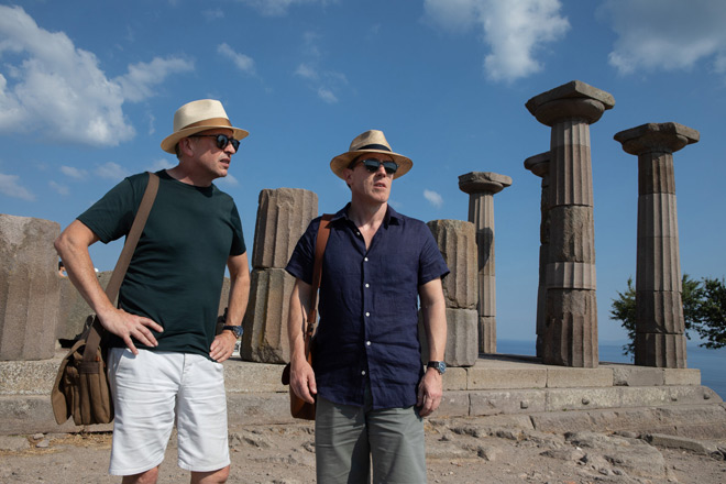 trip to greece 1 - The Trip to Greece (Movie Review)