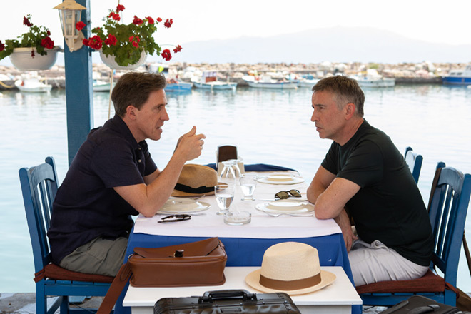 trip to greece 3 - The Trip to Greece (Movie Review)