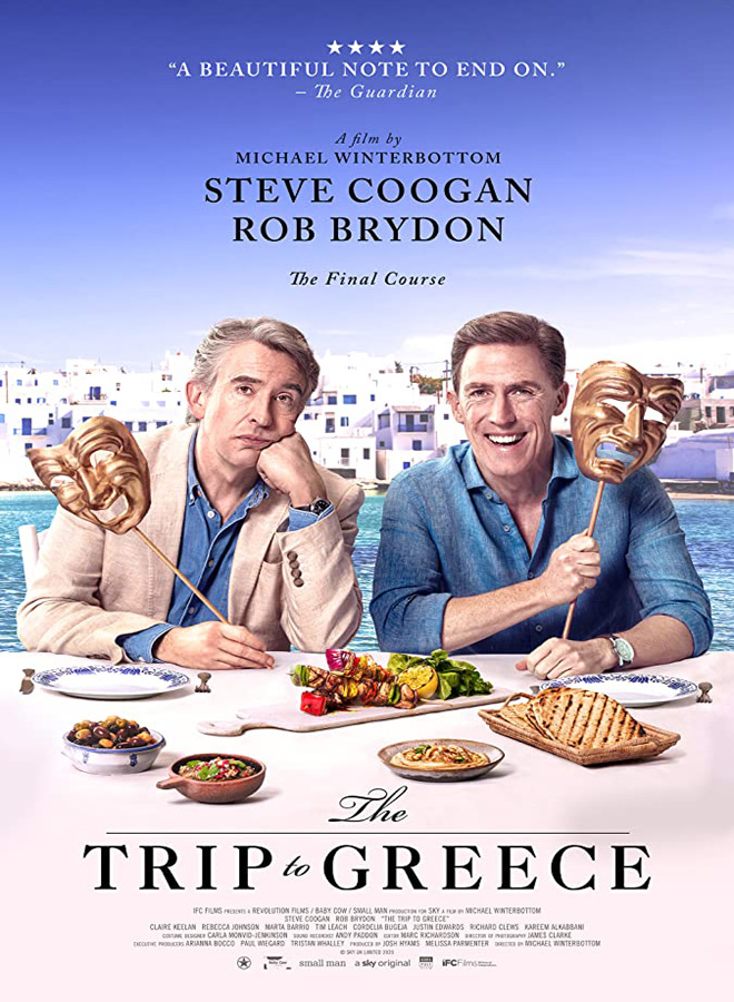 trip to greece poster - The Trip to Greece (Movie Review)