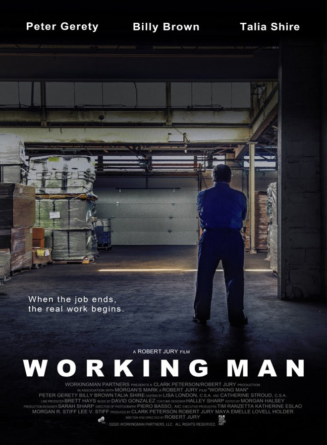 working man poster - Interview - Talia Shire