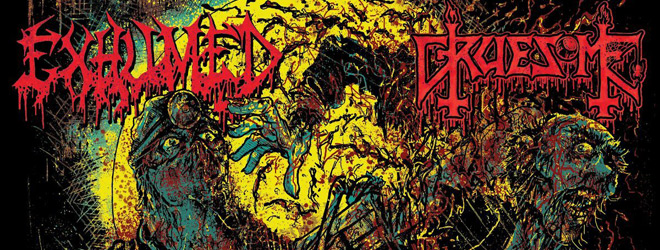exhumed slide - Exhumed & Gruesome - Twisted Horror (Split Review)