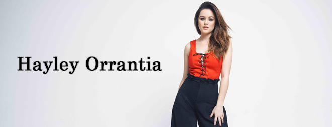 hayley interview slide - Interview - Hayley Orrantia